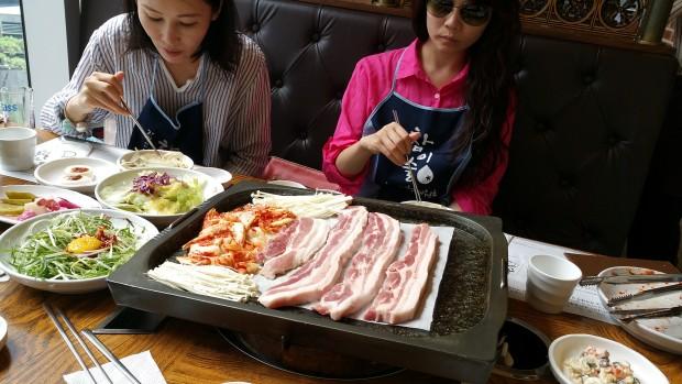韓國烤肉也不能錯過!